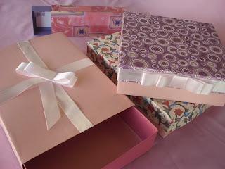 Sonhando Colorido: artesanato, caixa de presente