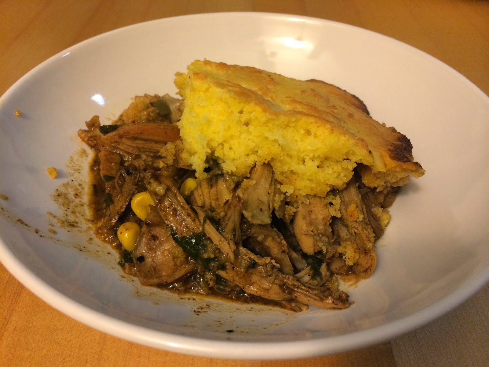 Holly Cooks: Month 10 day 9: Turkey Tamale Pie