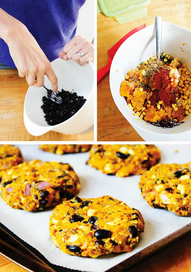 DIY Black Bean burgers