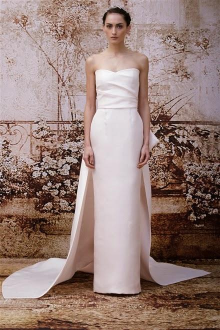 Những mẫu váy cưới mùa thu xu hướng năm 2014 cho cô dâu6