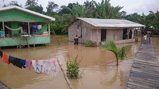 Defesa Civil AM antecipa o envio de ajuda humanitária aos municípios que decretaram Emergência na calha do Juruá devido à enchente