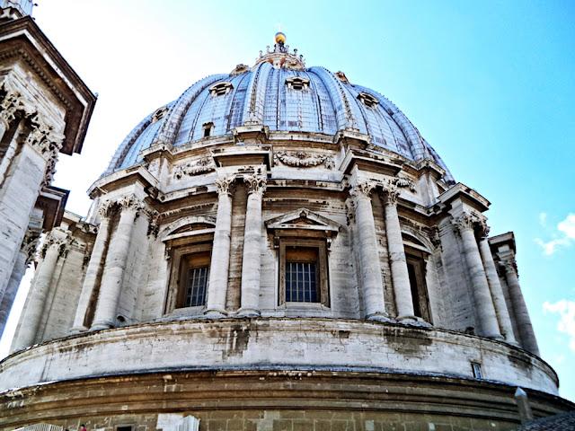 Bazylika św. Piotra - Watykan (wnętrze)