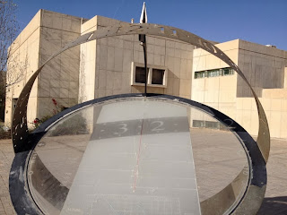 Sundial in the IDF academy