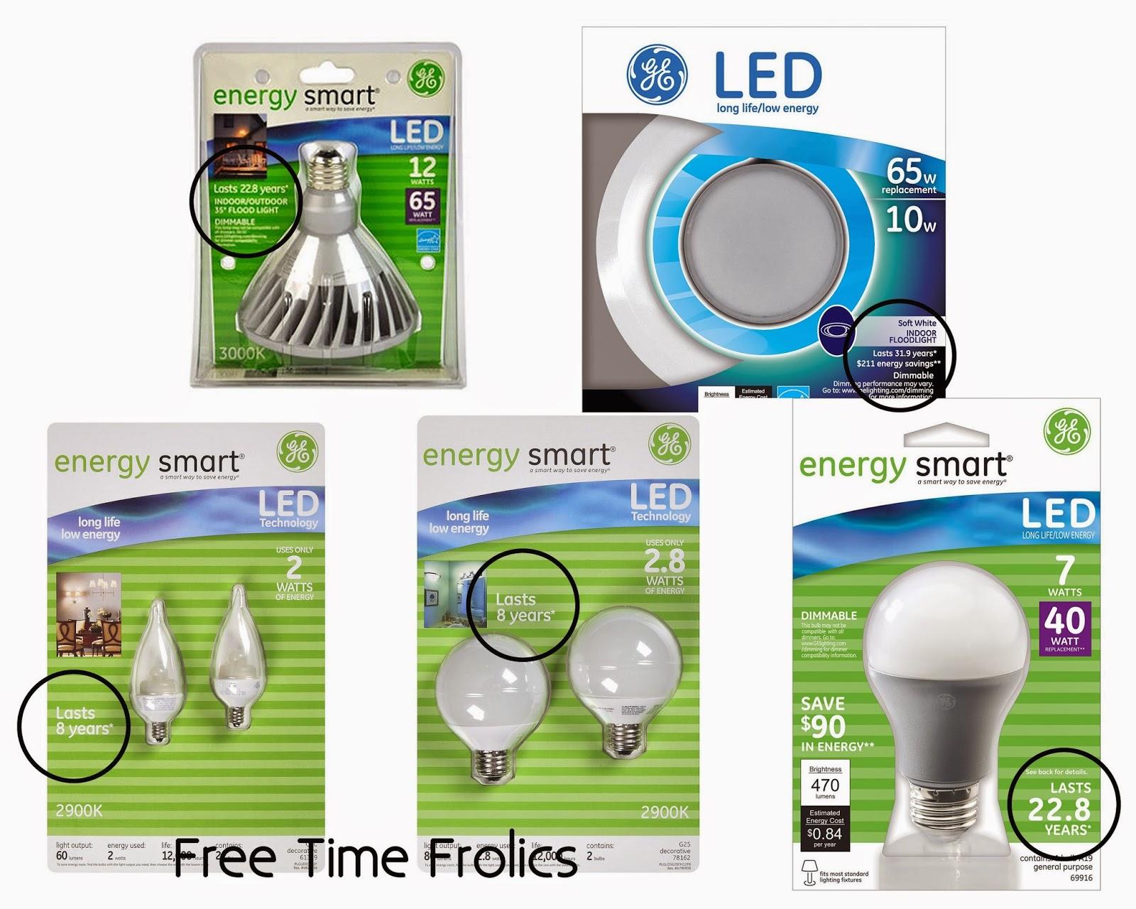 Energy Smart LED lighting www.freetimefrolics.com #shop #LEDSavings