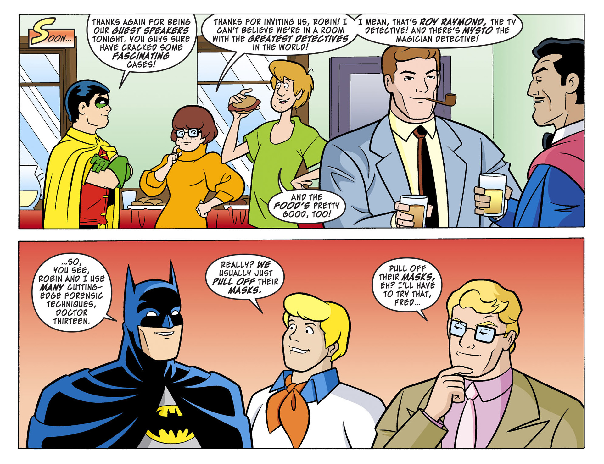 Read online Scooby-Doo! Team-Up comic -  Issue #3 - 7