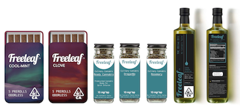 Freeleaf The World's First and Only Flavored Odorless Smokable Cannabis Flowe