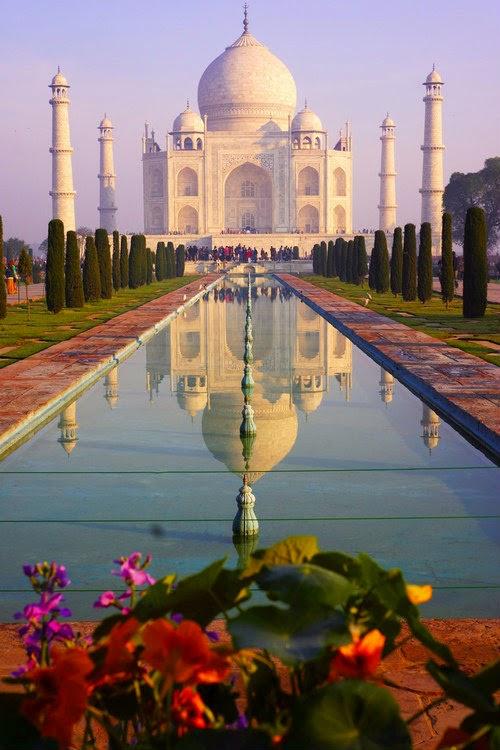 Taj Mahal-Agra-India