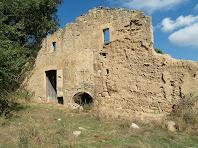 La façana de migdia del Molí de Bernadàs
