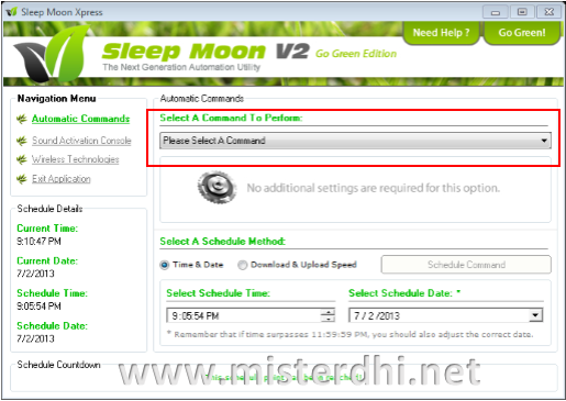 aplikasi sleep moon xpress