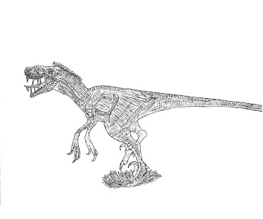 #8 Jurassic Park Coloring Page