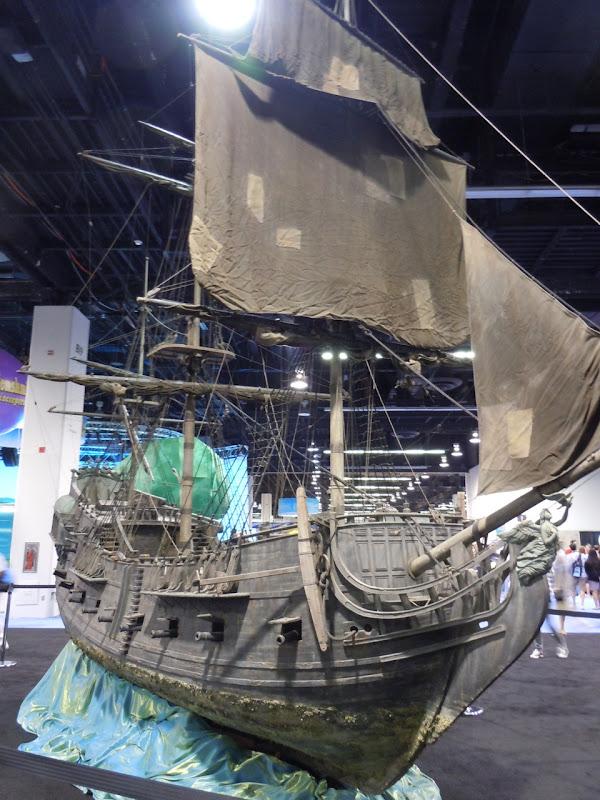 Black Pearl Miniature Pirate ship