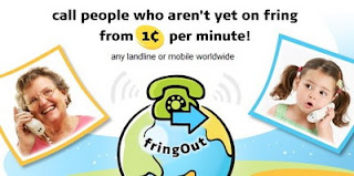 fringOut mobile VoIP service costs 1-cent for worldwide calling