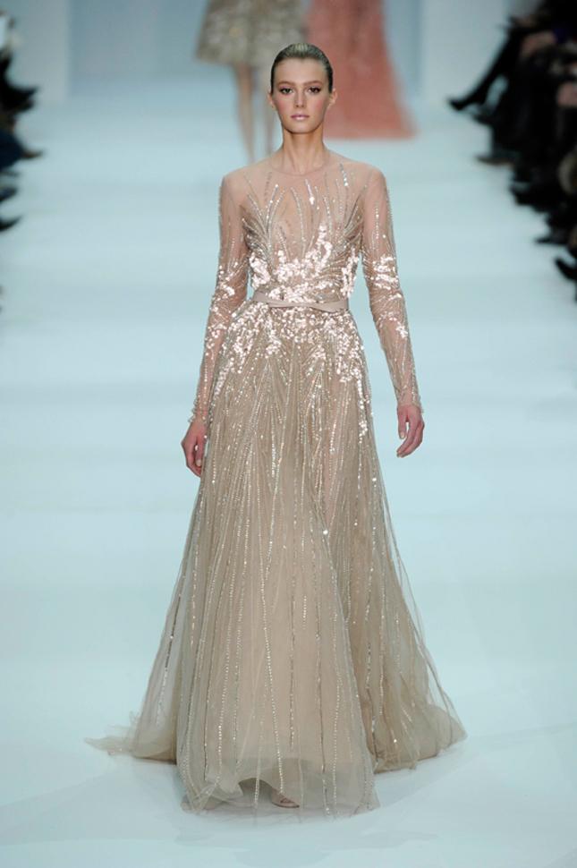 Elie Saab Spring 2012 fashion wedding dresses collection | Wedding ...