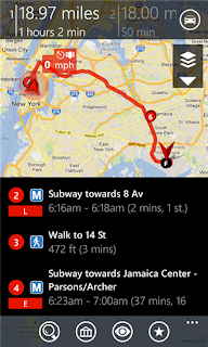 gMaps (Google Maps) for windows phone 8