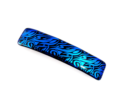 https://www.etsy.com/listing/241249144/french-barrette-blue-black-art-glass