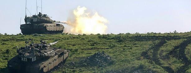 Israel abre fogo depois de disparos procedentes da Síria