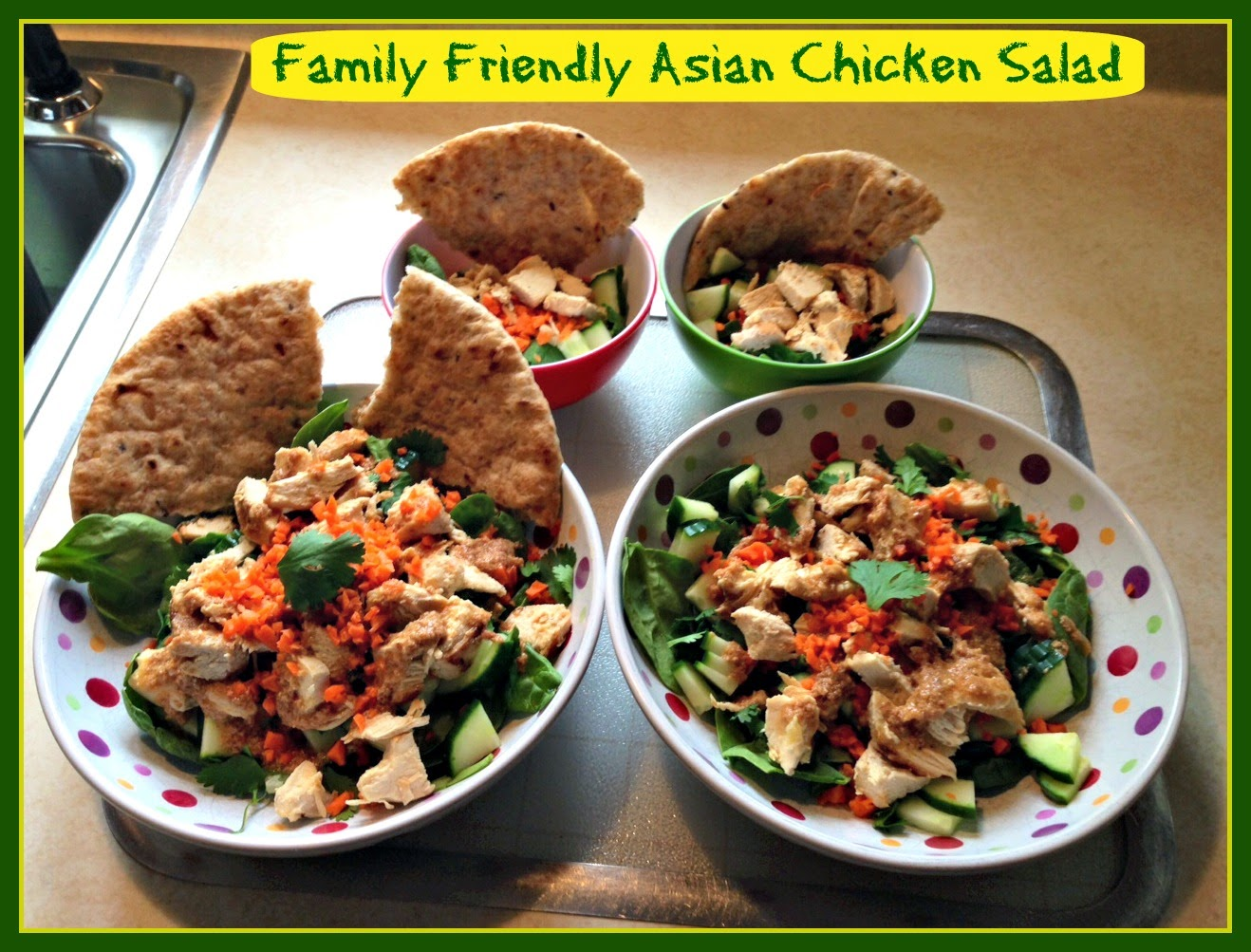 Kitchen Window: Family Friendly Asian Chicken Salad