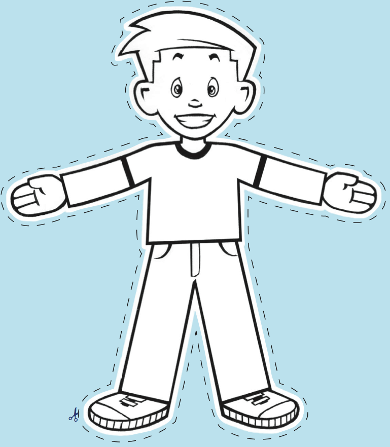 flat stanley coloring pages - photo#3