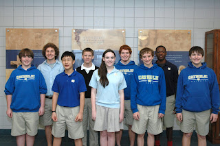 Montgomery Catholic Band Members Selected for All-District, All-State Honor Bands 1