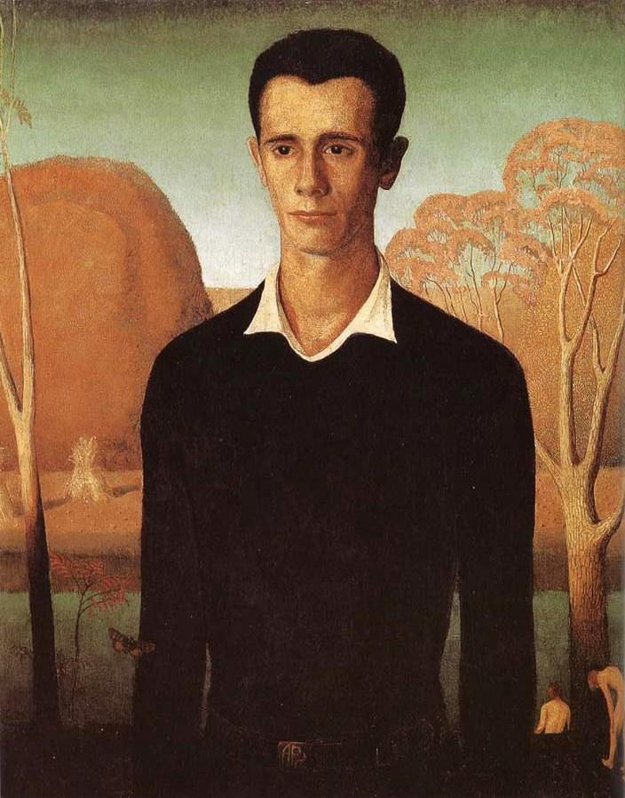 1930s American Paintings 1930 Grant Wood American