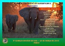 2015 - ALMOÇO-CONVÍVIO DO 9º ANIVº DO GAG  (REPORTAGEM)