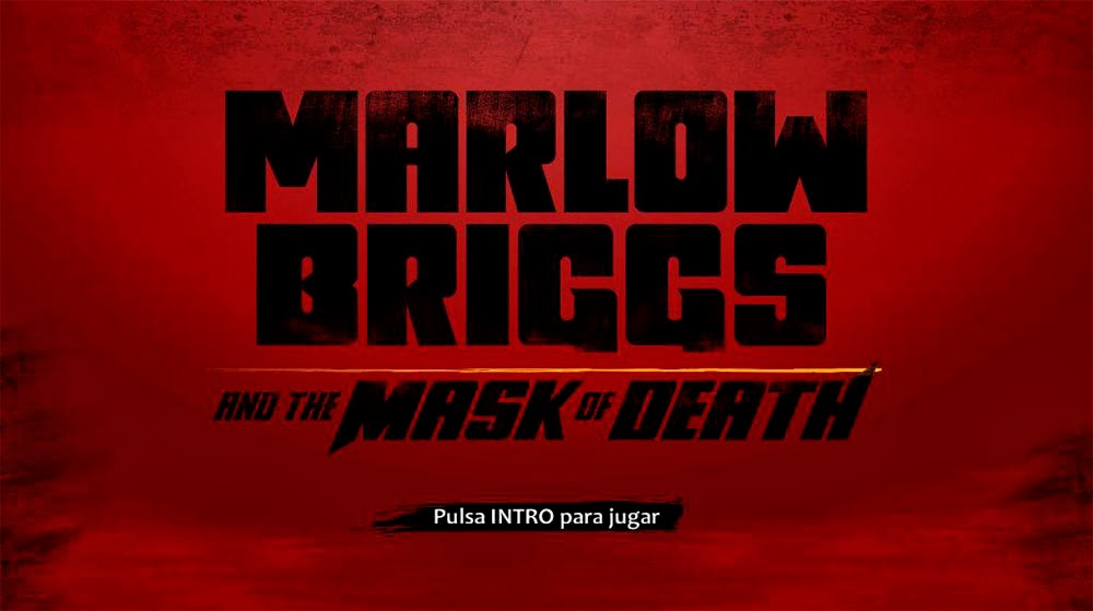 Marlow Briggs and the Mask of Death  [MG] [FC]