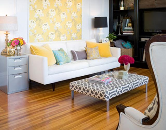 Arquivadores de escritório são reutilizados como móveis residênciais
