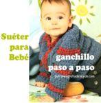 Sueter bebe crochet