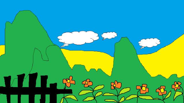 Contoh  Mewarnai Untuk Sd Menggunakan Tool Pen Dan Coloring