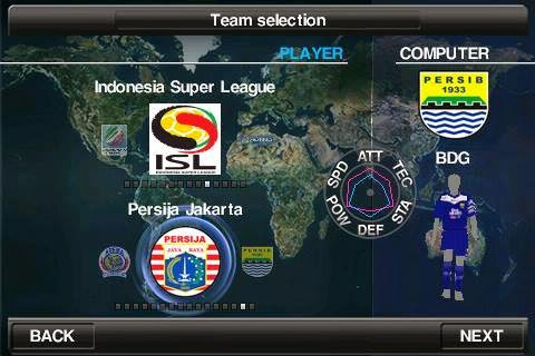 Game Android PES 2014 MOD ISL
