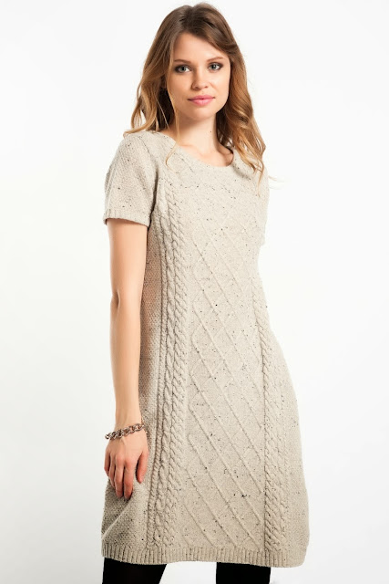 beyaz triko elbise, kısa elbise