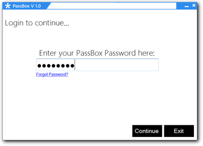 Password login