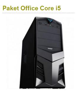 Harga Komputer Paket Office Core i5