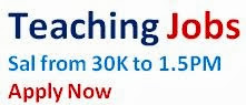 Teaching jobs in India