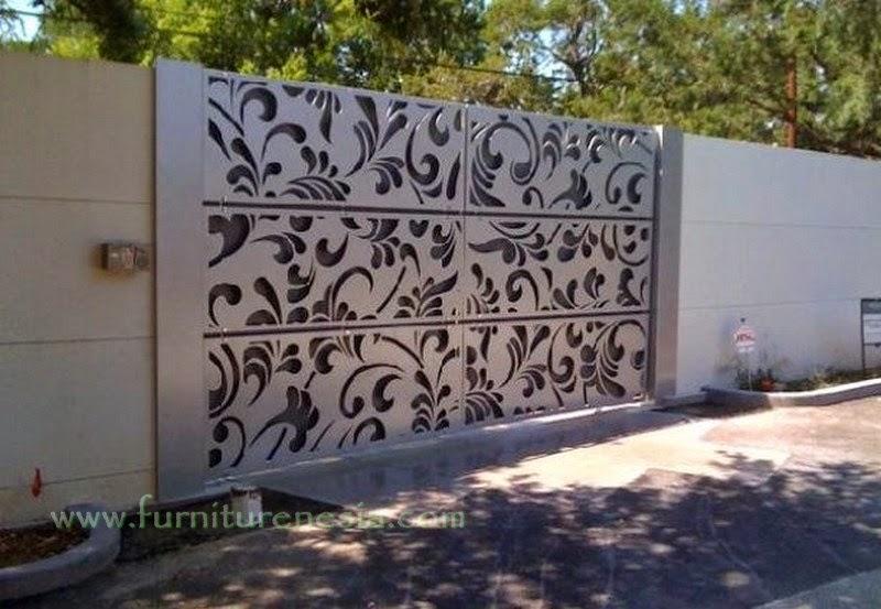 gambar pagar tembok terkini