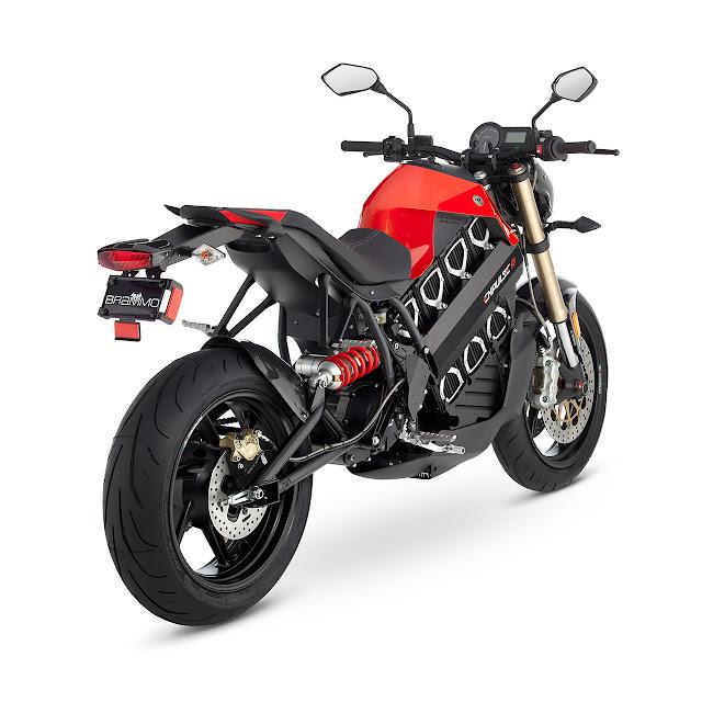 Brammo Empulse R Electric Motorcycle rear