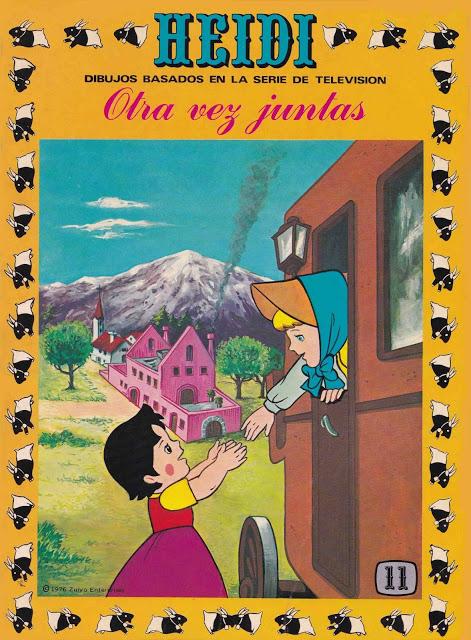 HEIDI - Colección completa - 39 tomos