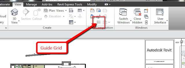 Revit Guide Grid to Arrange Viewports on Sheets