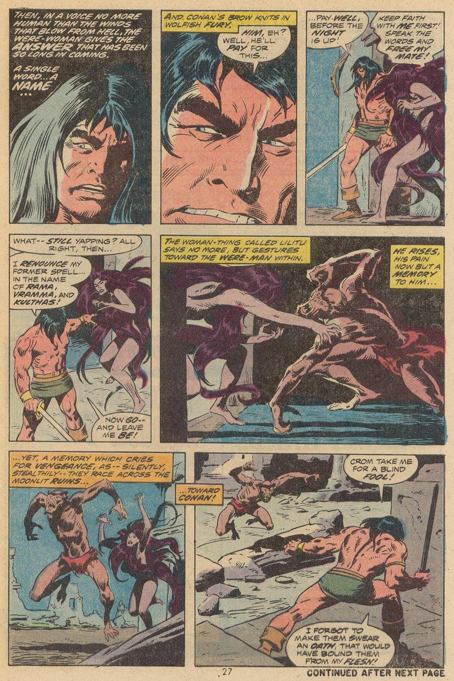 Conan the Barbarian (1970) Issue #38 #50 - English 19