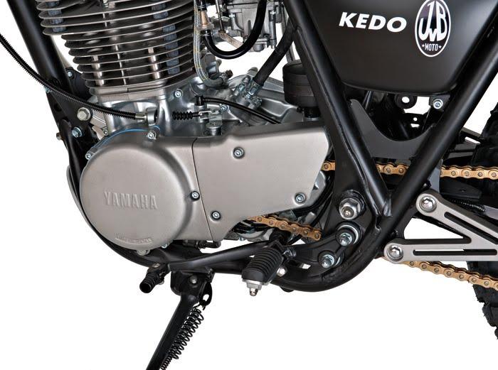 Racing Caf    Yamaha SR 500 B Track by JvB Moto Kedo