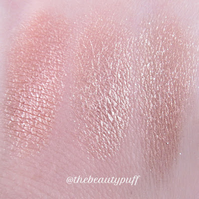 colourpop butterly beach plunge birthday girl swatches - the beauty puff