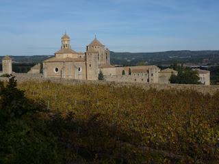 Panorámica del Monasterio de Poblet