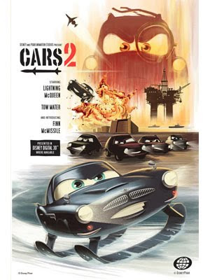 Cars 2 - Pósters Retro