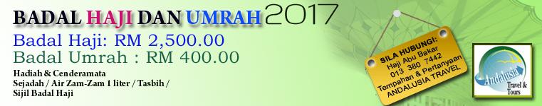 BADAL HAJI & UMRAH 2017