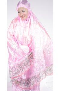 Mukena Abutai 2 - Pink (Toko Jilbab dan Busana Muslimah Terbaru)