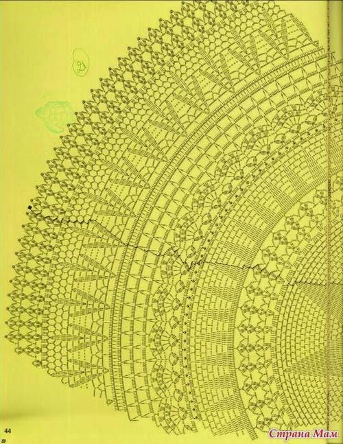 Free Crochet Pattern for Stunning Maxi Skirt - Summer Maxi Skirt to ...