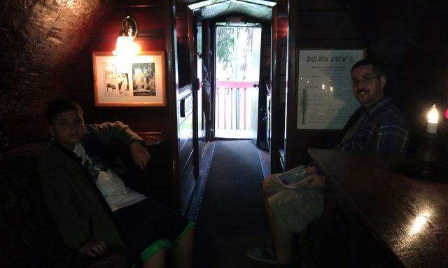 st augustine ripley's log home
