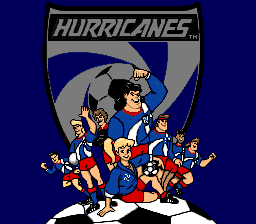 Hurricanes SNES title screen