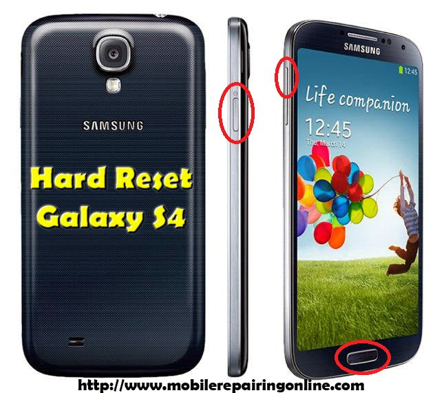 How to Hard Reset Galaxy S4