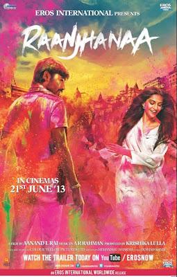 Ranjhana Hindi Movie Poster